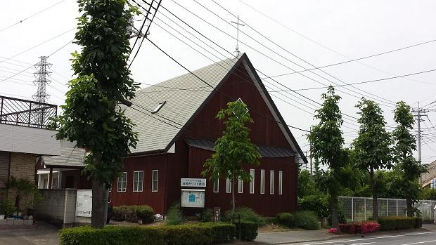 高崎キリスト教会 会堂